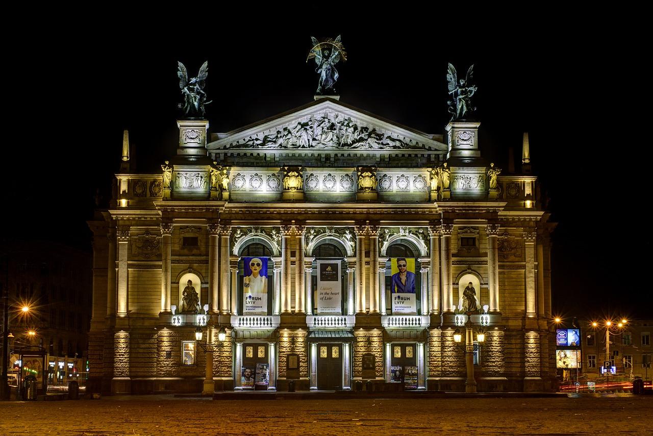 A day in Lviv opera theatre