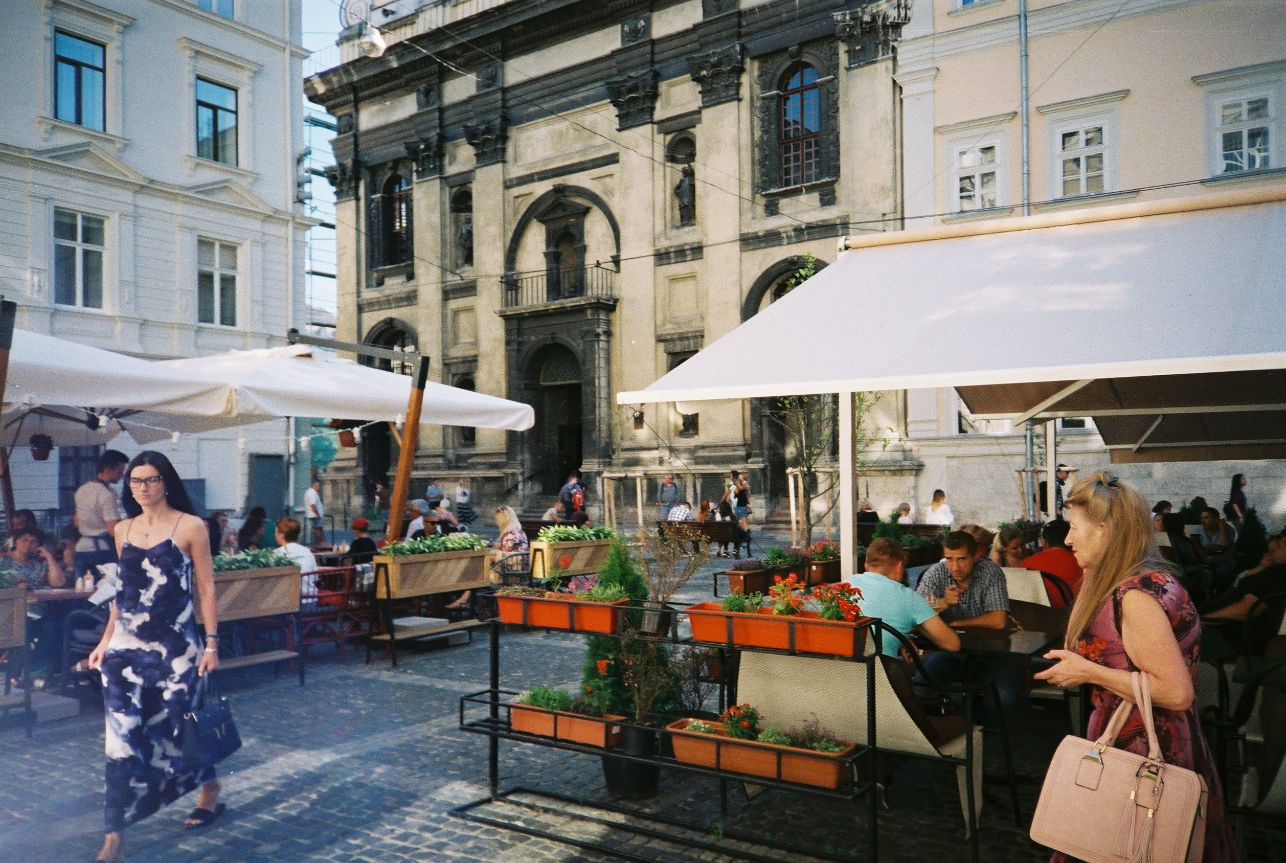A day in Lviv, street centre-small
