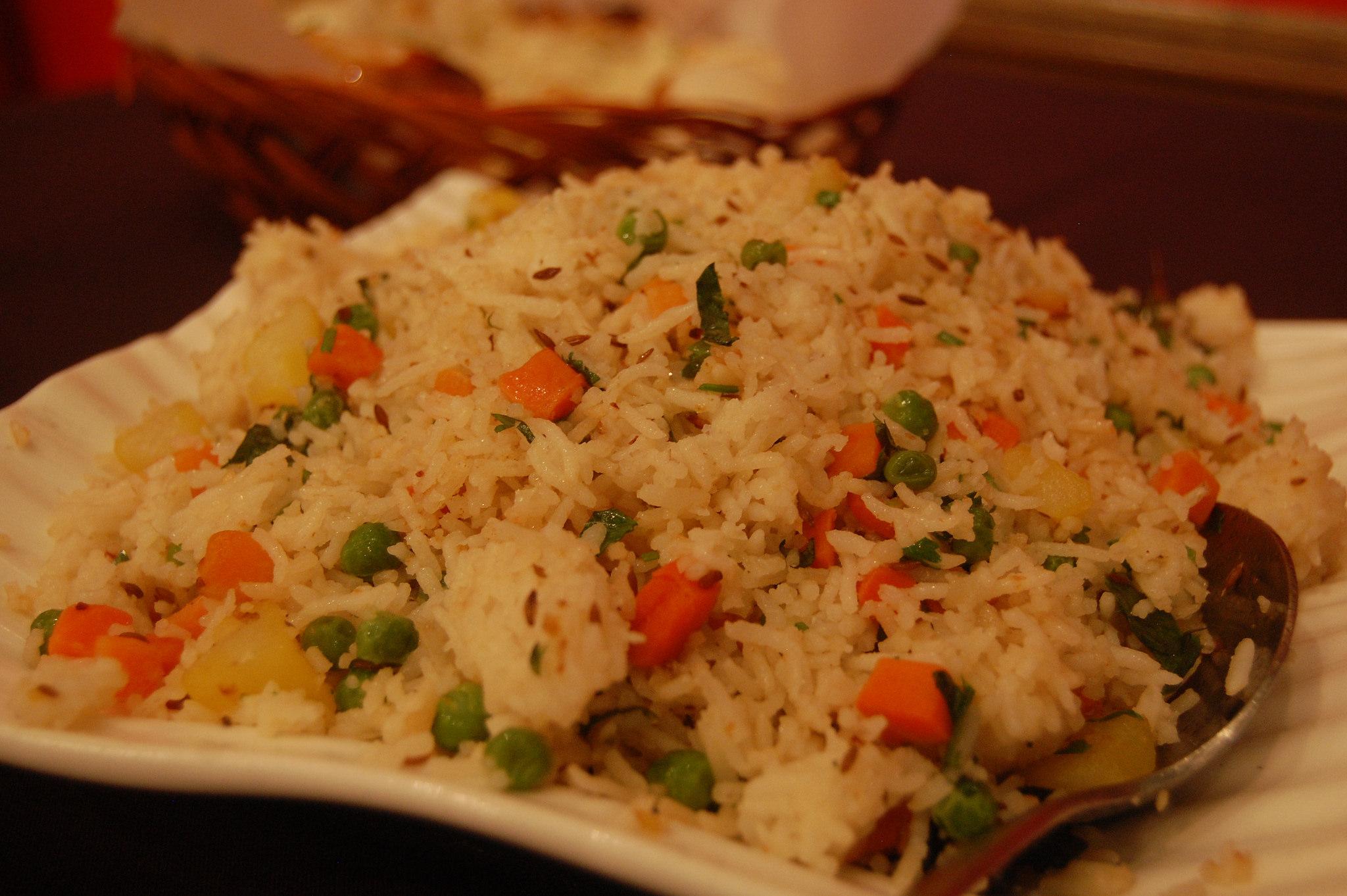 Masala Pulao Spicey Vegan Zanzibar