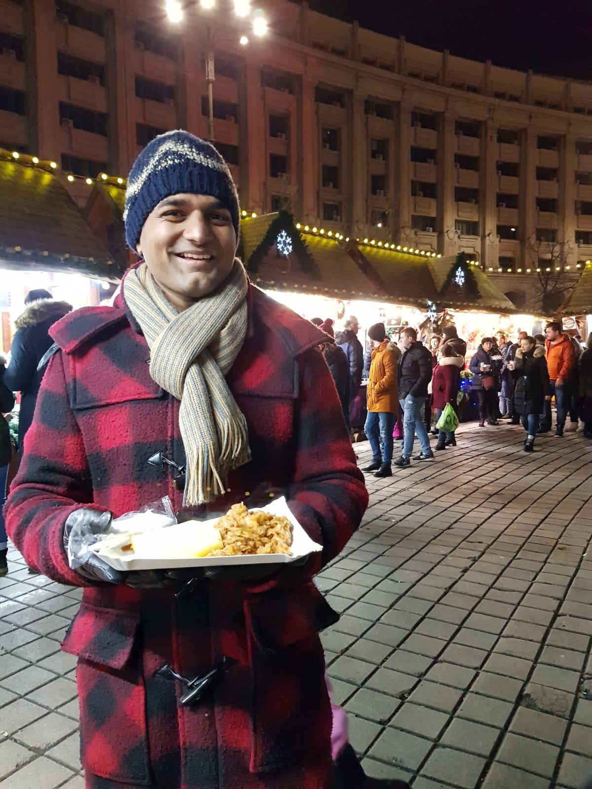 Happy vegan street food in Bucharest