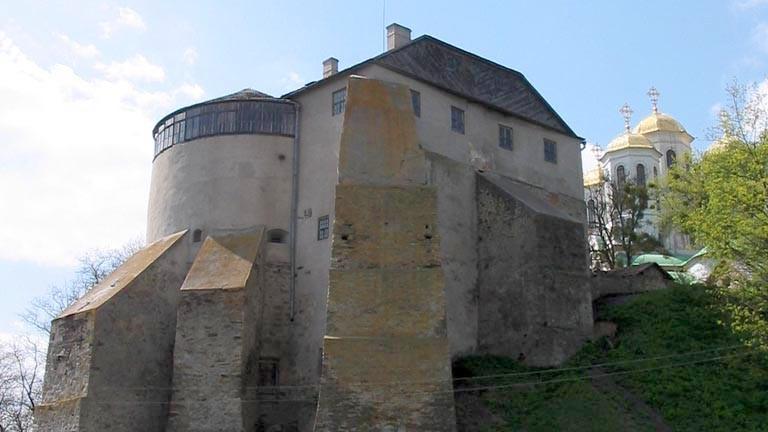 Ostroh_Castle_(Klymenko) Ukraine