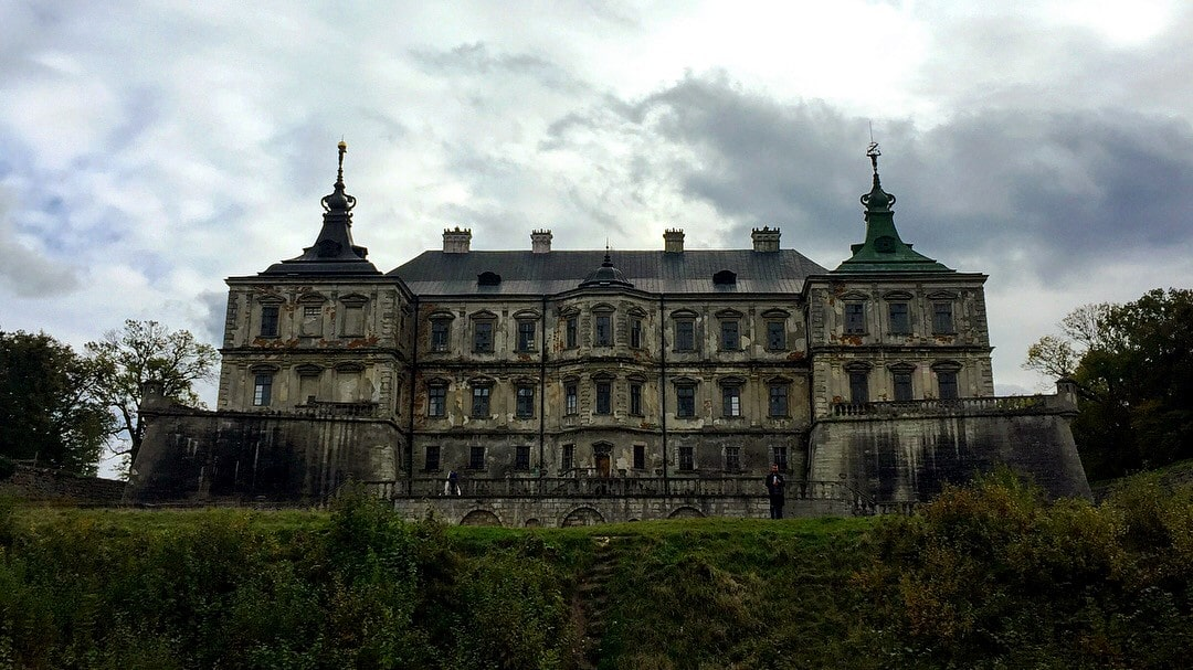 Pidhirtci Castle Ukraine