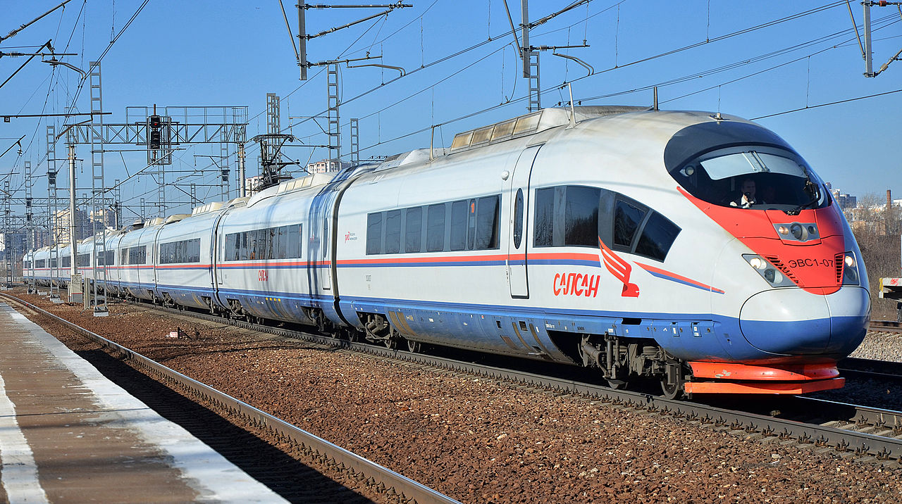 Sapsan Train Moscow Petersburg