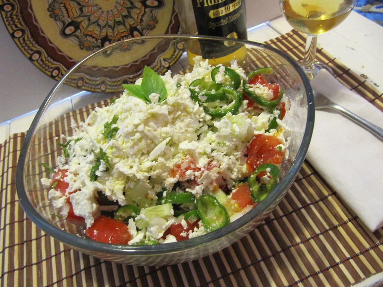 Shopska salad macedonia