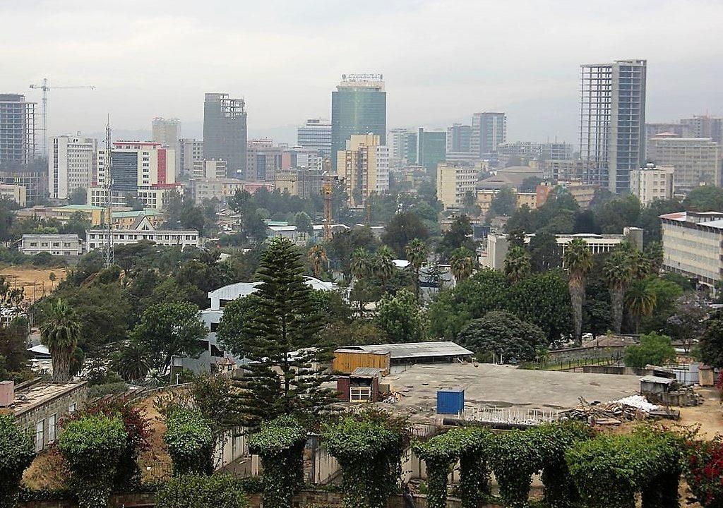Addis Ababa beautiful city in Ethiopia