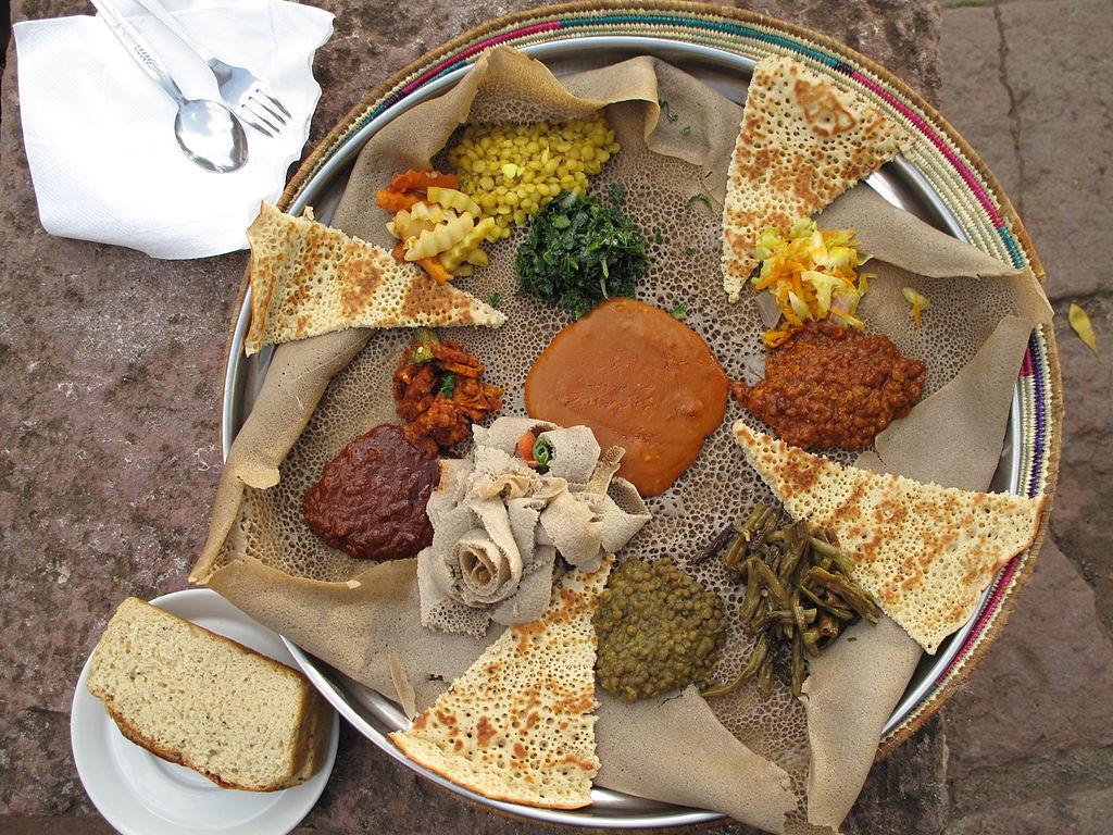 Injera vegan Ethiopia