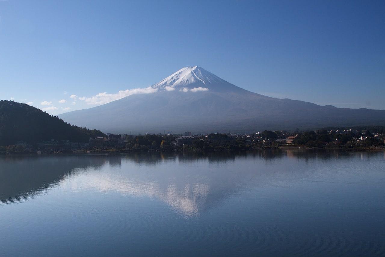 Lake Kawaguchiko Mount Fiji Japan