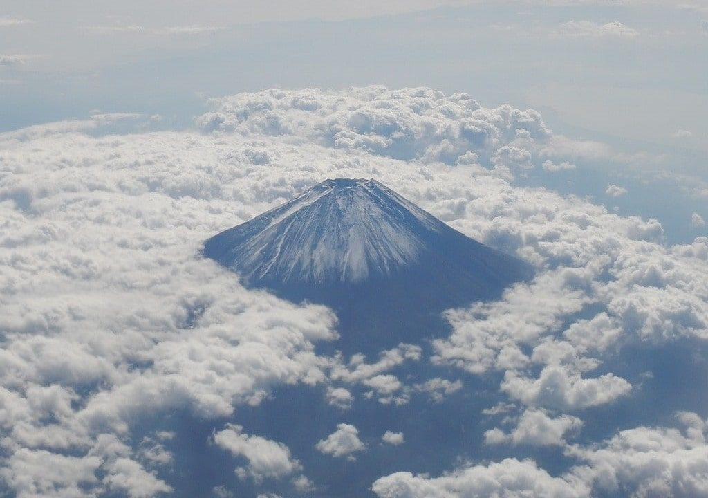 Mount Fuji Flight Plane what to do in Japan