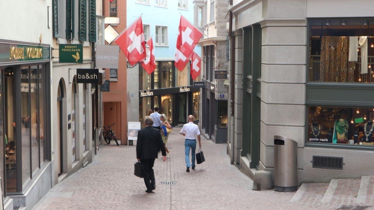 Old town zurich raclette