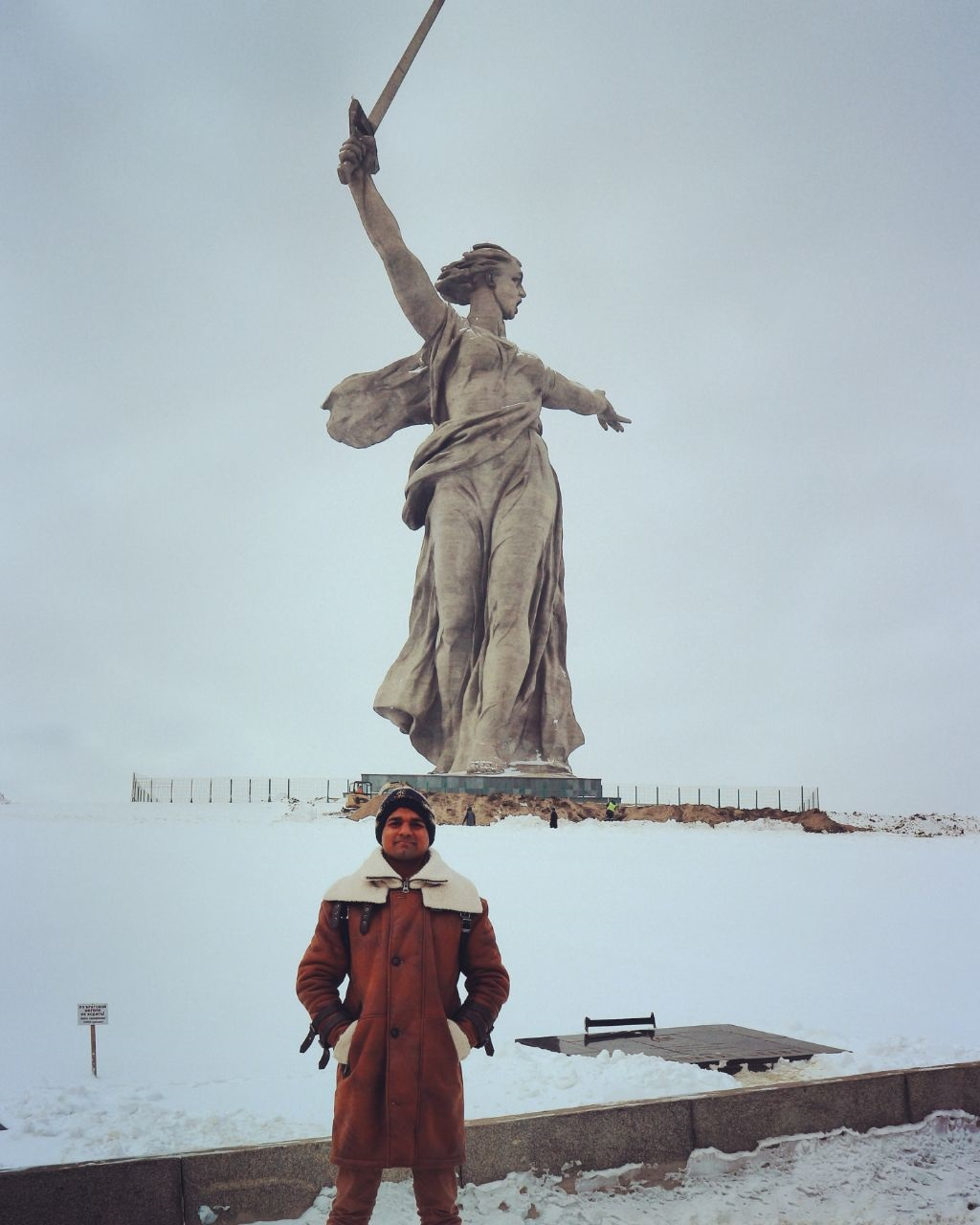 Sanskar with Rodina Mat' Zovyot in volgograd russia