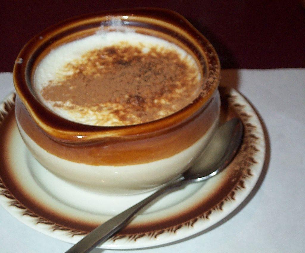 Sutlijash rice pudding vegetarian macedonia
