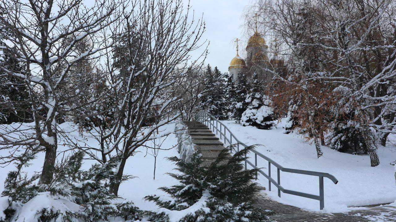 church at Rodina Mat' Zovyot Volgograd