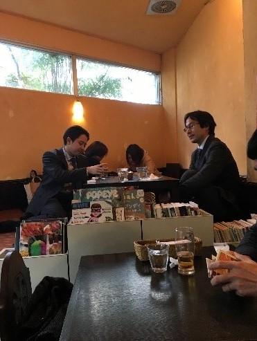 Nagi shokudo Interior japanese vegan restaurants
