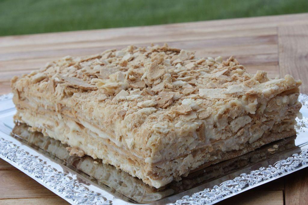 Napoleon Cake Russia