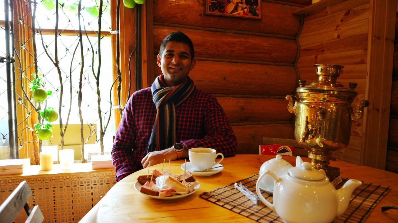 vegan in russia ivan chai samovar pastilla